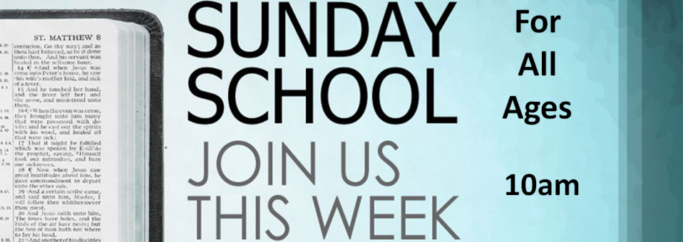 Sunday School Banner1
