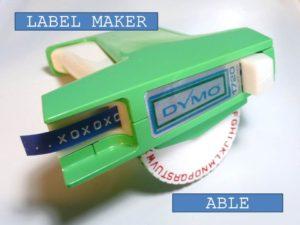 Label Maker 4 - Able